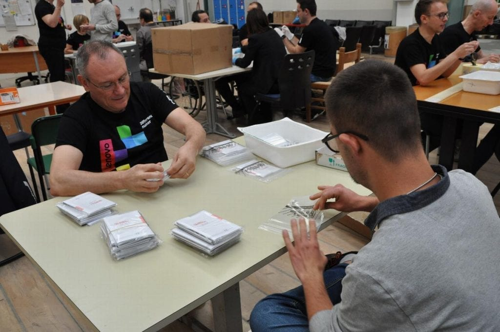 Lenovo Italy Helps Diverse Communities During Make A Difference Week 2018