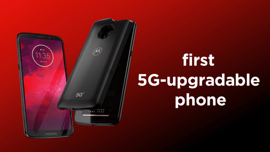 Motorola Connects You to 5G First