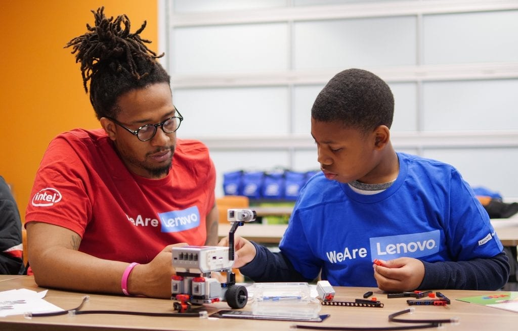 Learning STEM by Battling Robotic Cars and Exploring VR