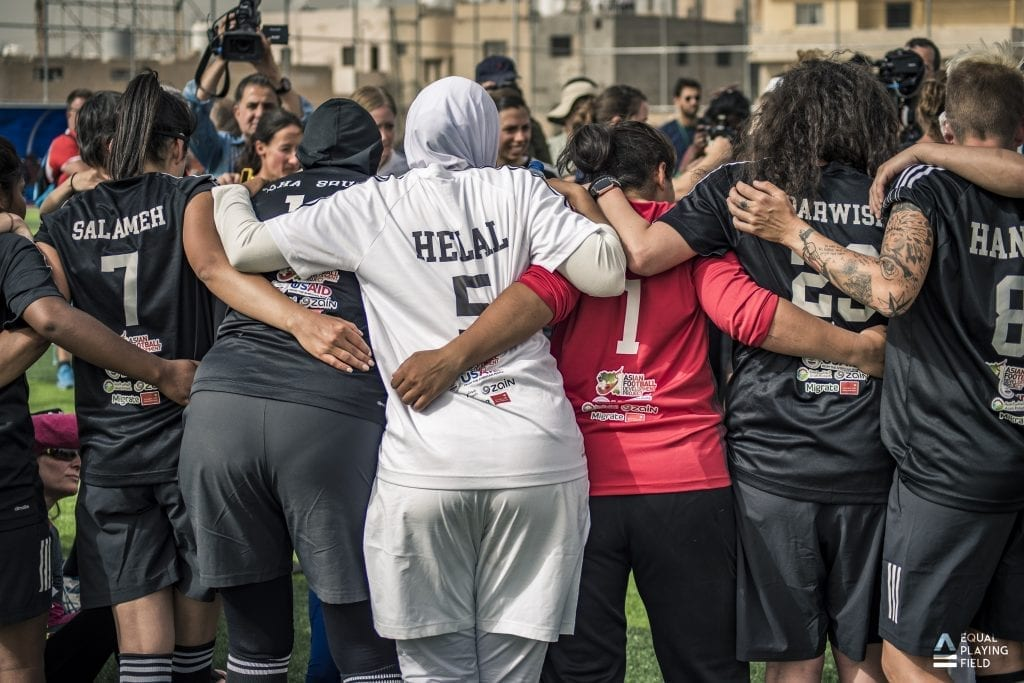 Summit to Sea: Playing Extreme Football to Empower Female Athletes and Activists