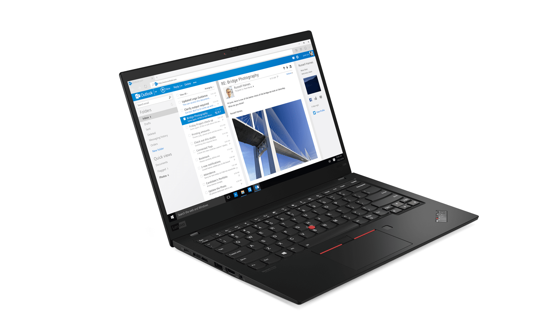 ThinkPad X1 Carbon - Front