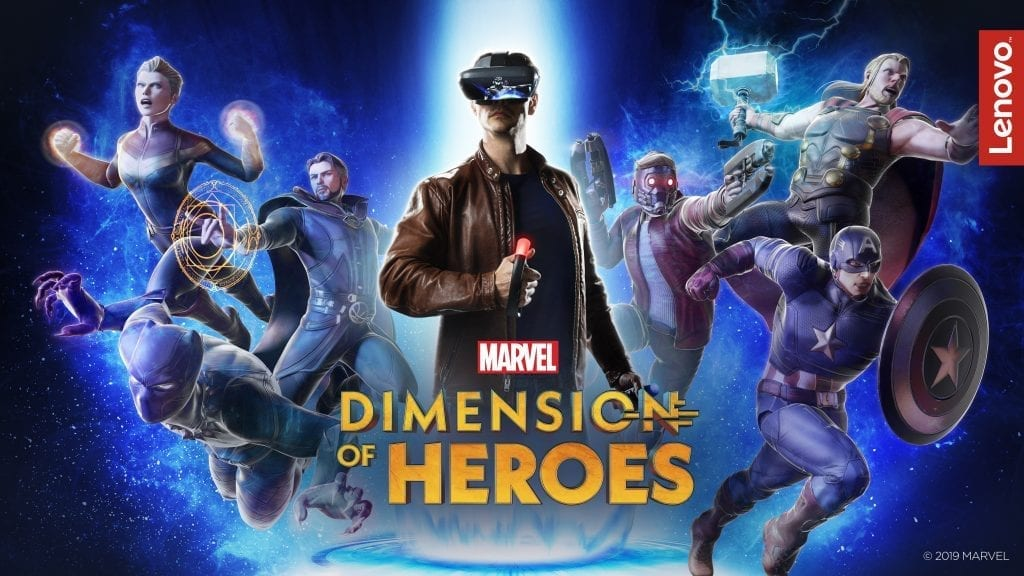 Lenovo Mirage AR with MARVEL Dimension of Heroes