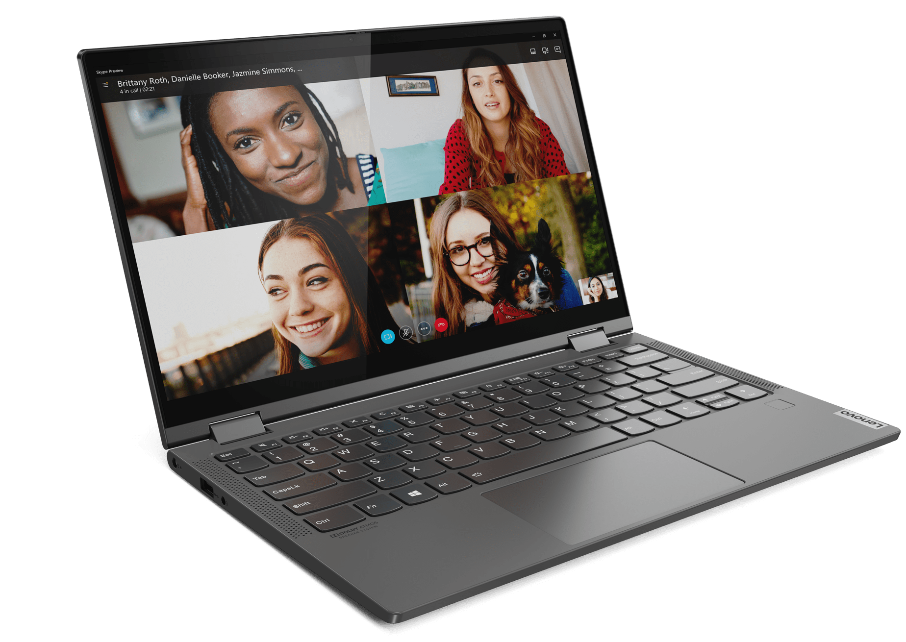 The new 13-inch Yoga C640 is Lenovo's most compact 2-in-1 laptop built for consumers.