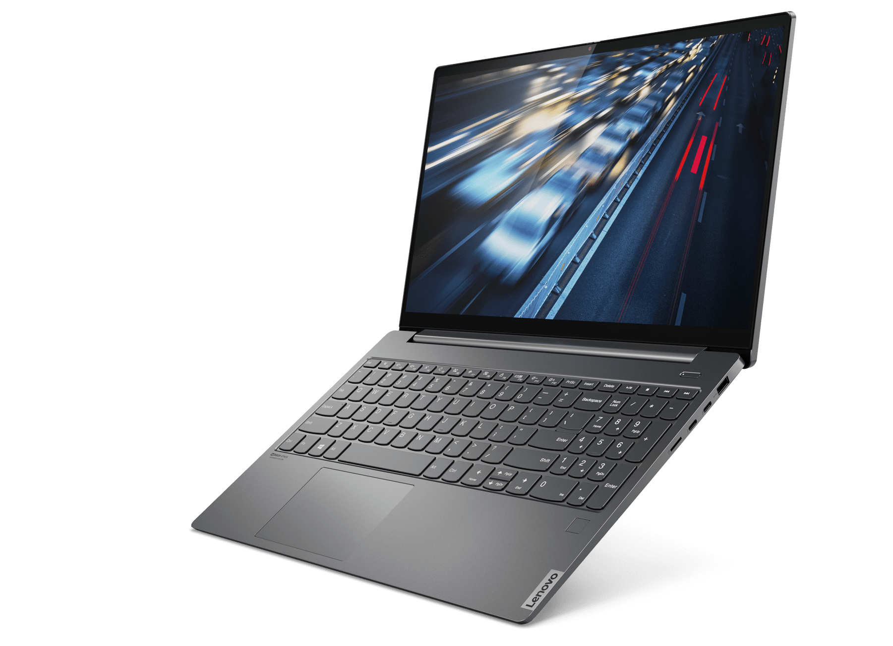The 15-inch Yoga S740 offers NVIDIA GeForce GPUs for intense visuals.