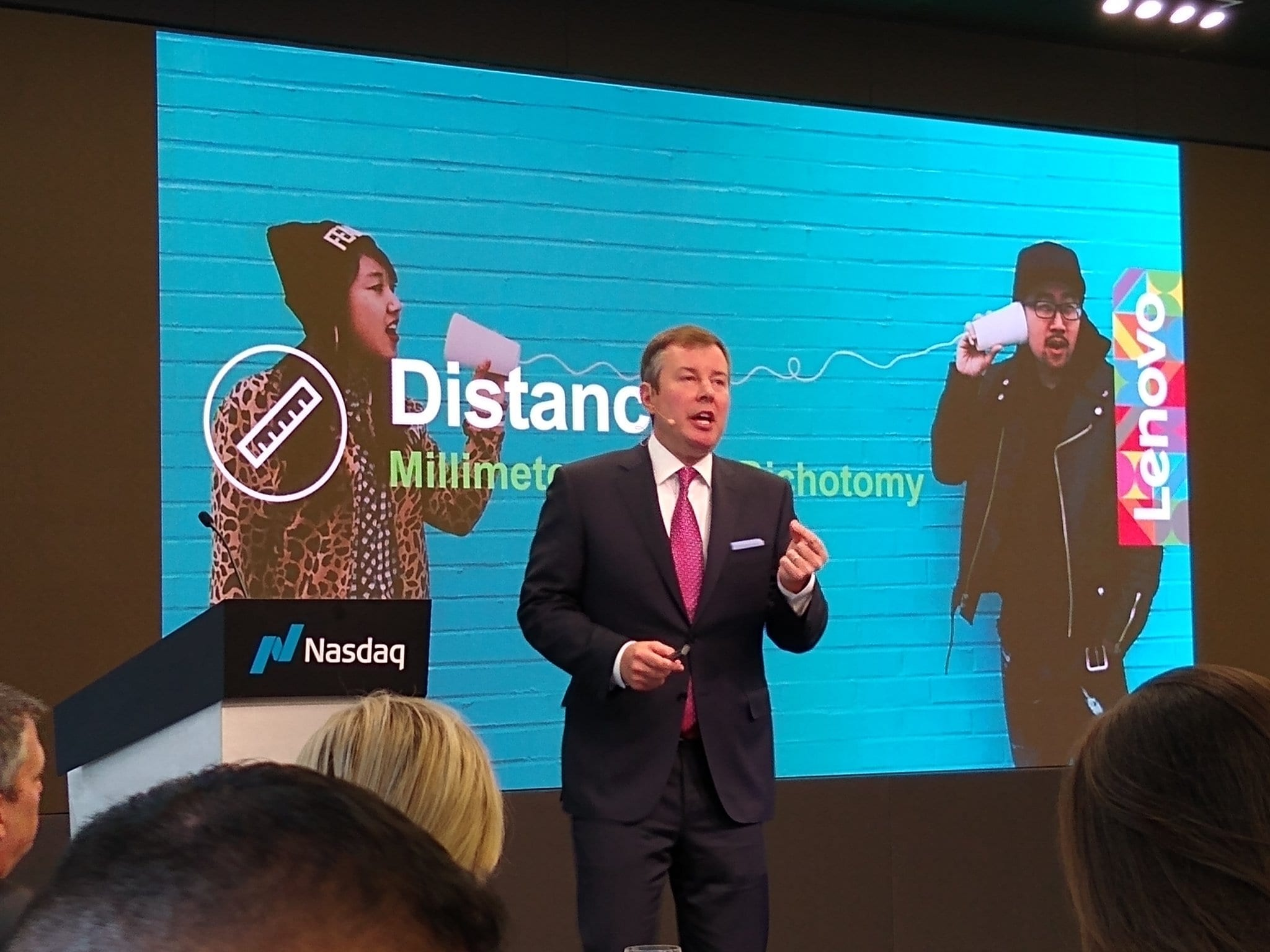 National Cyber Security Alliance (NCSA) conference at NASDAQ.