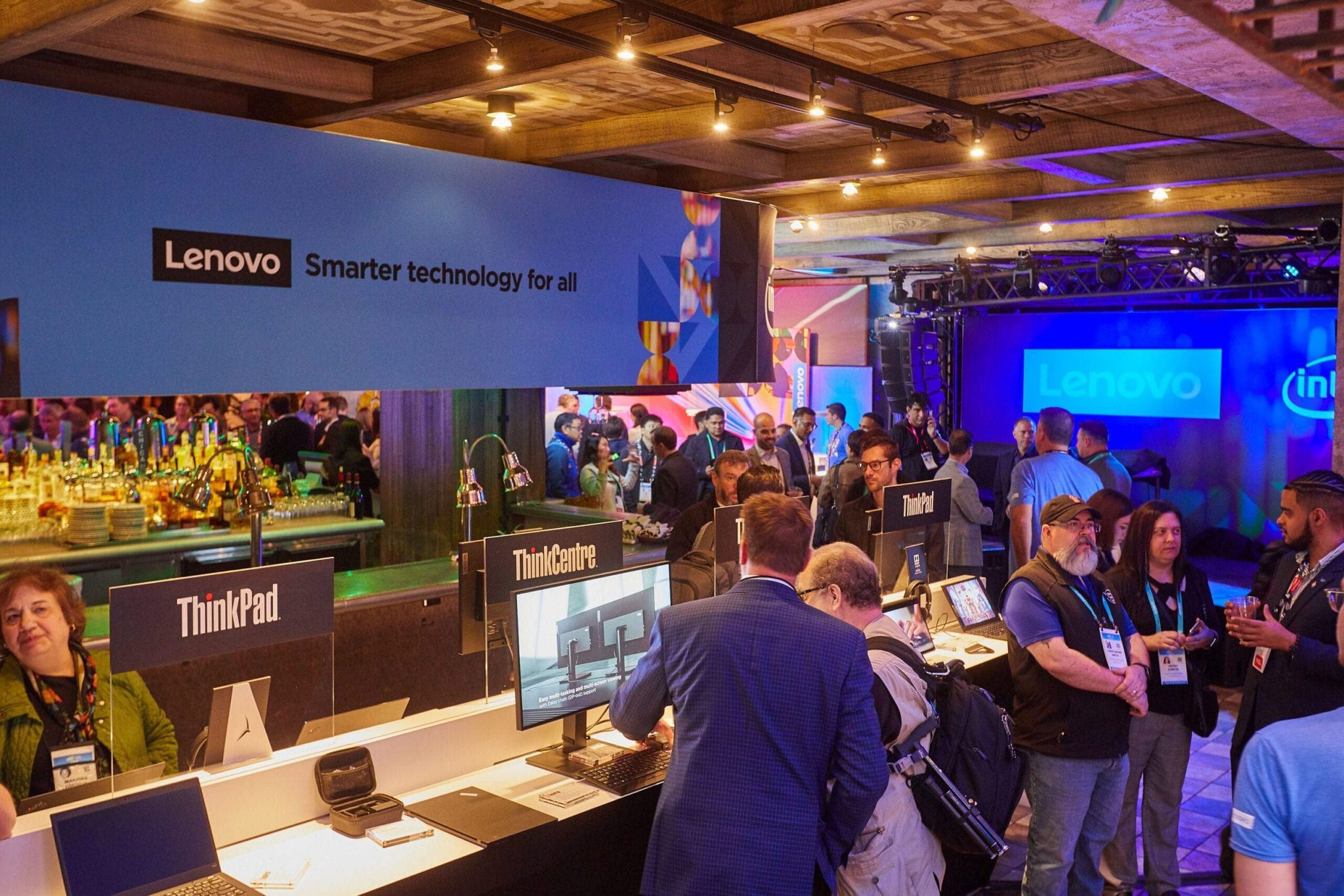 Lenovo booth at CES 2020