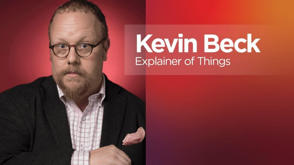 """Lenovo """"Explainer of Things"""" Kevin Beck"""