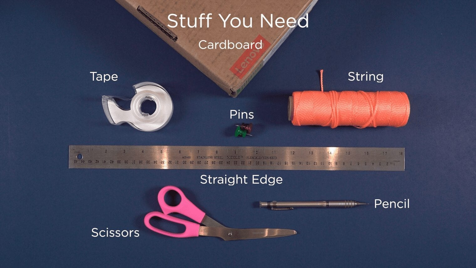 HEX - Stuff you Need - supplies for the project