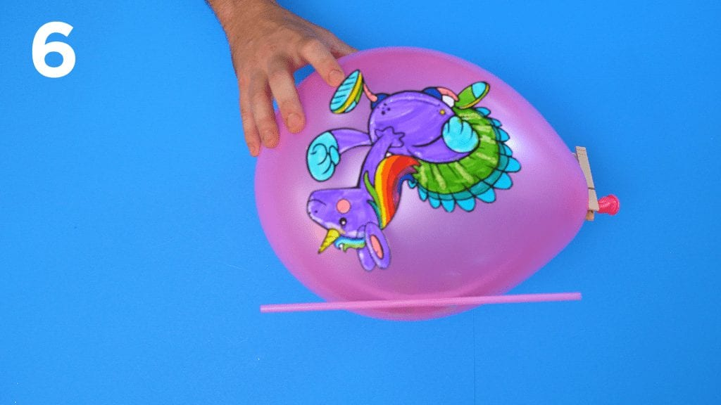 STEM at Home: Balloon Race 6