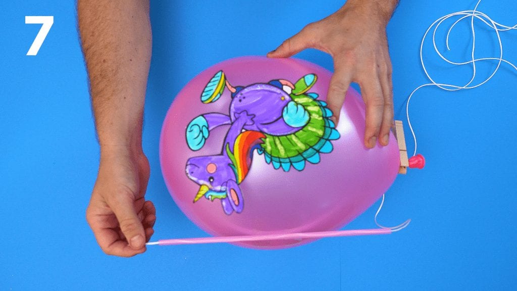 STEM at Home: Balloon Race 7