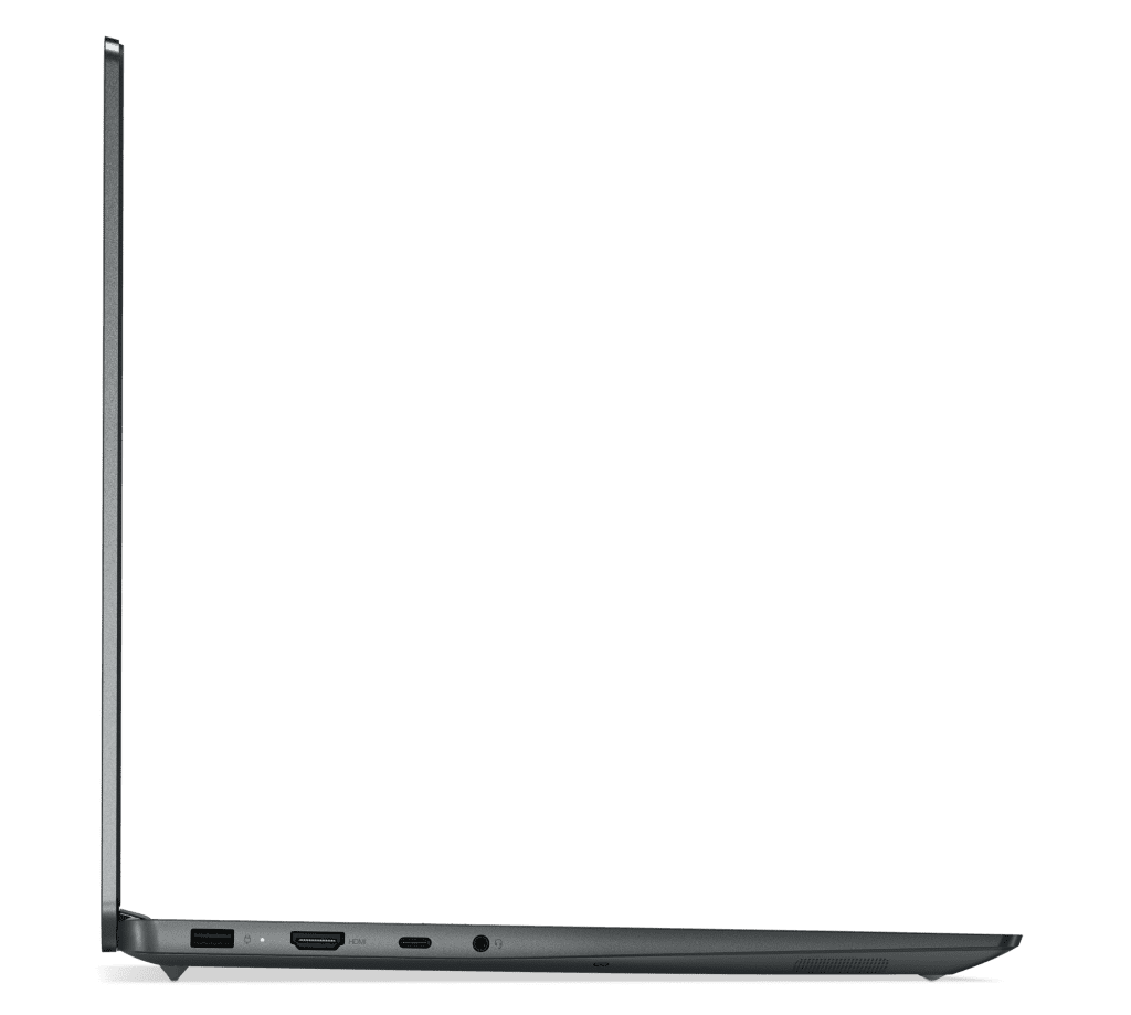 The 16-inch IdeaPad 5 Pro with AMD CPU in Storm Grey