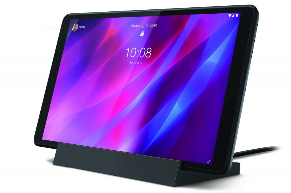 Third gen Lenovo Tab M8 with Smart Charging Station (select models only)