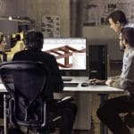ThinkStation P350 tower in use by engineering team