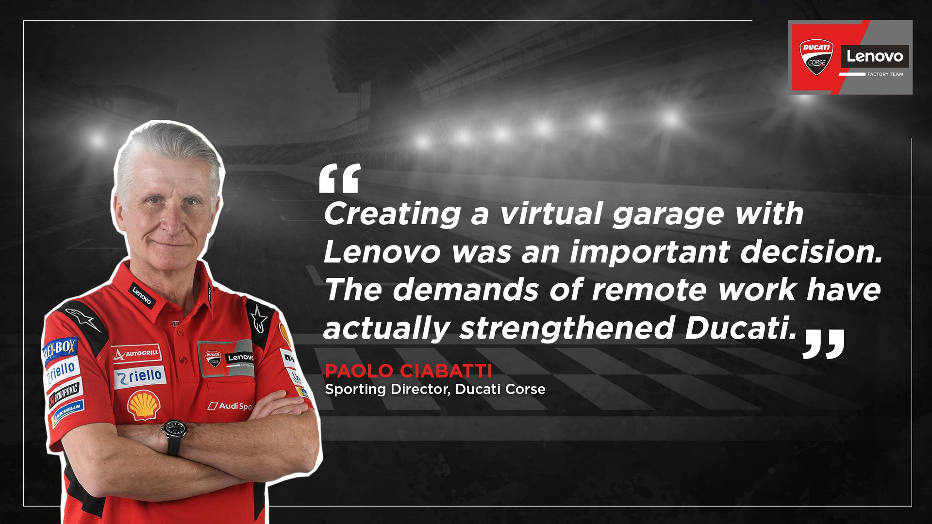 Ducatis Sporting Director Talks Tech, Team and Timing