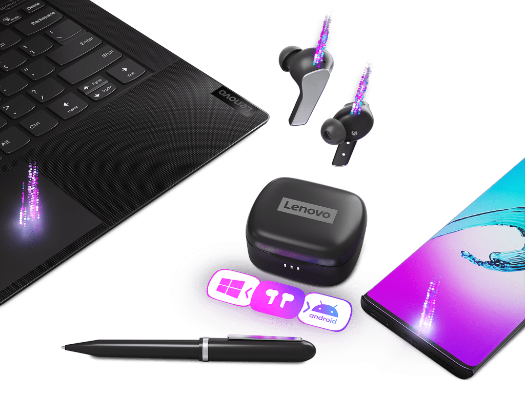 Lenovo Smart Wireless Earbuds_Pairing_Devices
