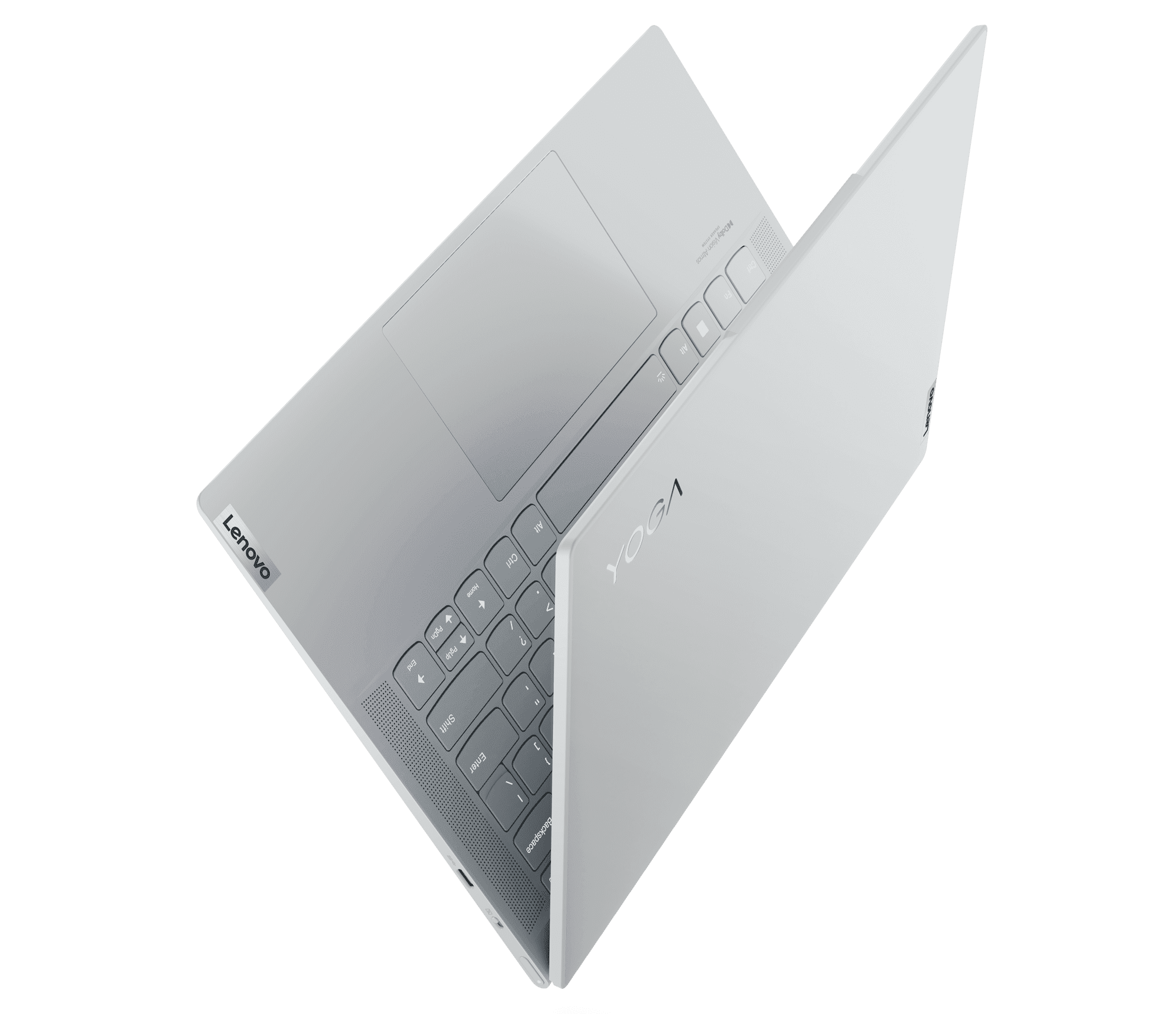 A larger touchpad gives the Yoga Slim 7 Carbon a degree of user flexibility ideal for hybrid work and creation